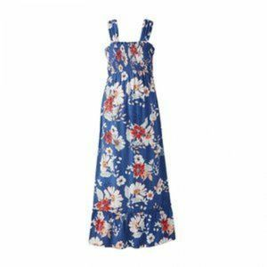 NWT Large Maternity Floral Maxi Dress